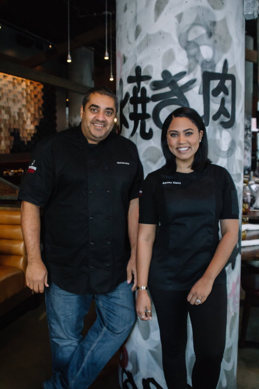 Michael Mena and Ayesha Curry will bring International Smoke to One Paseo.