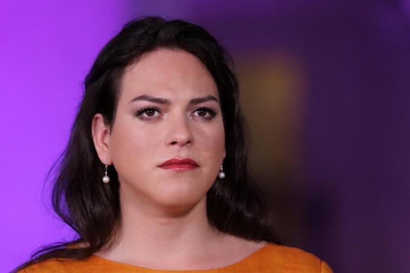 Fotografía de la actriz chilena, Daniela Vega. EFE/Archivo