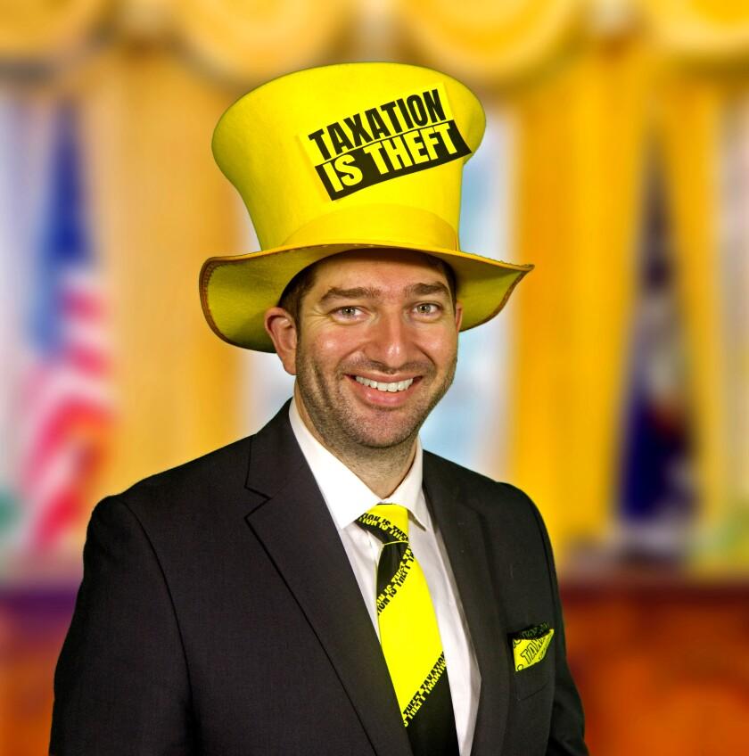 Presidential candidate Dan Behrman