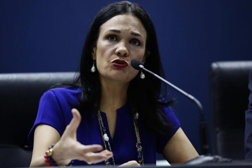 Fotografía de archivo de la vicepresidente y canciller de Panamá, Isabel de Saint Malo de Alvarado. EFE/Archivo