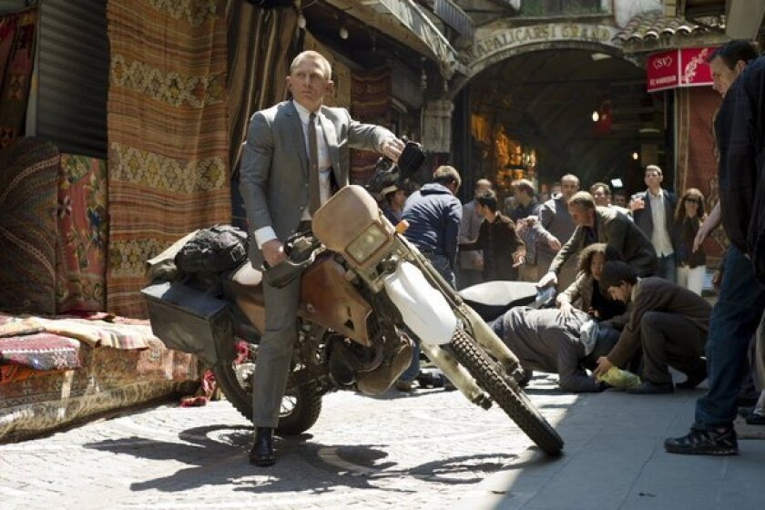 "James Bond (Daniel Craig in ""Skyfall"") may have met his match in China."