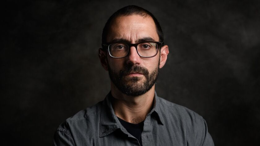 """An author photo of Matt Stroud for his book """"Thin Blue Lie: The Failure of High-tech Policing."""" Cred"""