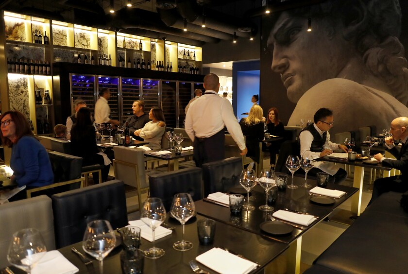 On Food: Bello by Sandro Nardone serves 'modern dishes like they are made in Italy'