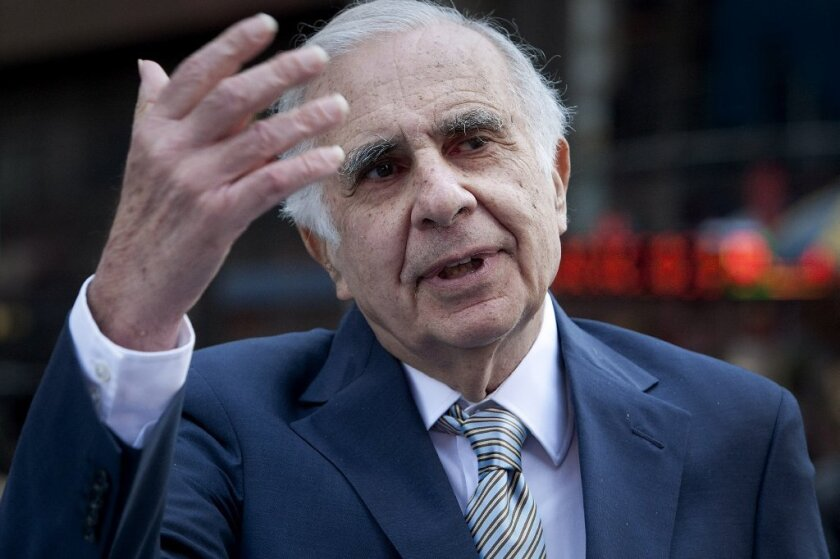Carl Icahn said he's made $250 million through investment in Herbalife Ltd.
