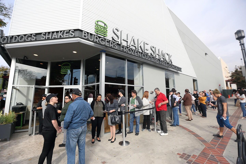 Photo Gallery: Shake Shack opens in Burbank