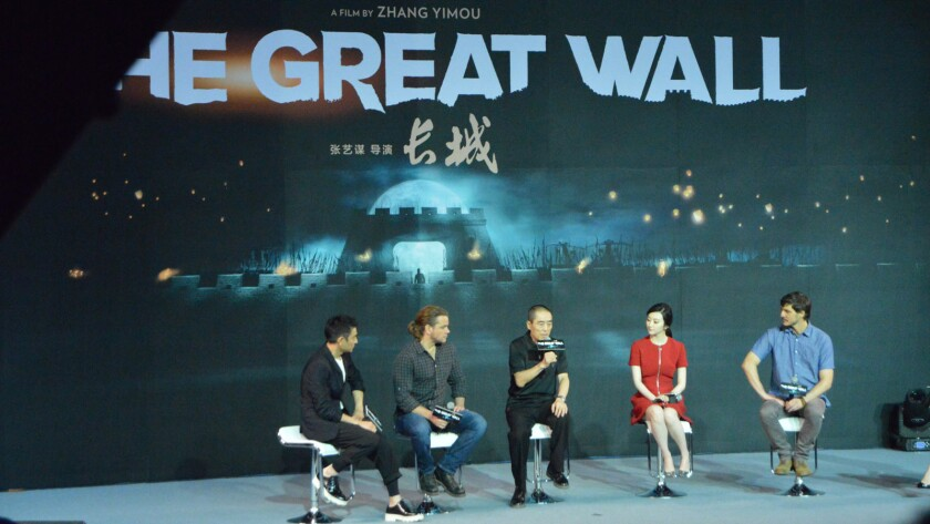 'The Great Wall'