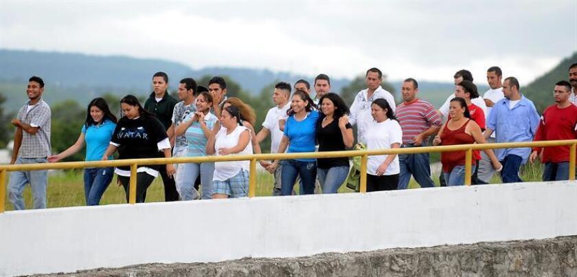 El Observatorio Consular y Migratorio de Honduras (Conmigho), dependencia adscrita a la Secretaría de Relaciones Exteriores y Cooperación Internacional, registró en enero el retorno obligado de 4.610 hondureños, indicó la institución en un comunicado. EFE/Archivo