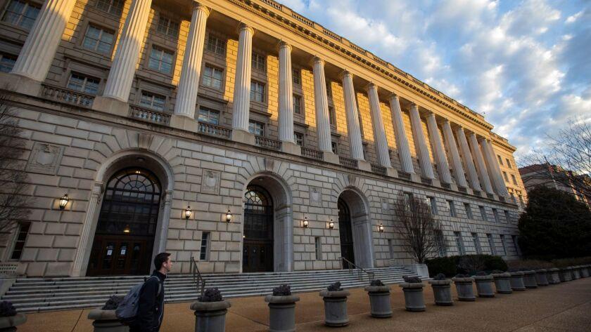 US government in partial shutdown in Washington, USA - 08 Jan 2019
