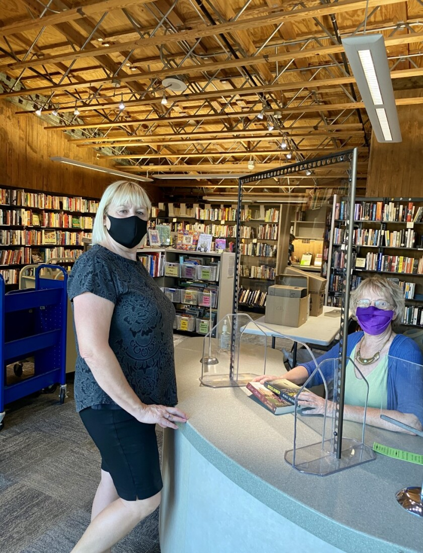Library bookstore open by appointment