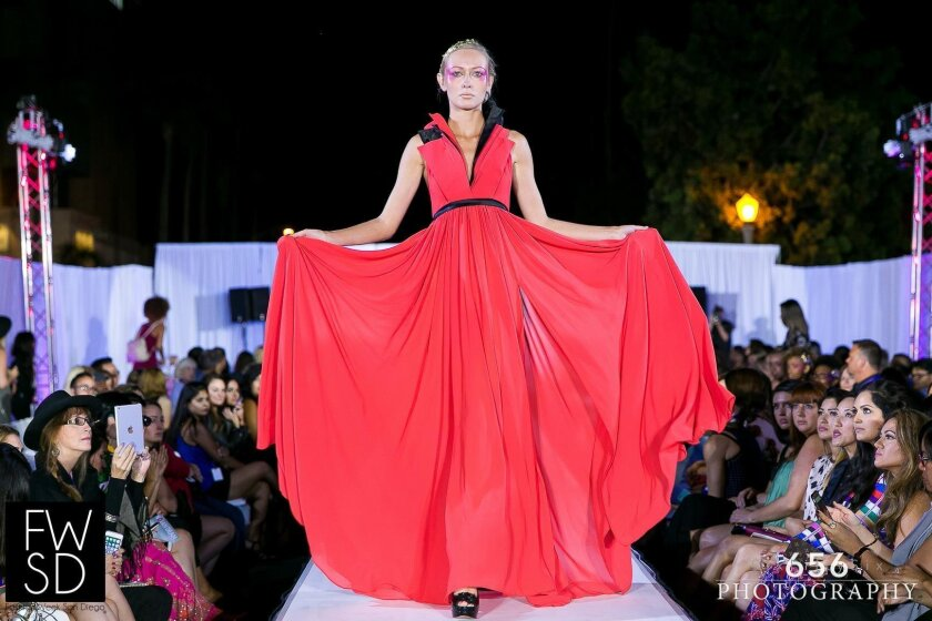 Dramatic designs from the 2015 Fashion Week San Diego, which was also held in La Jolla