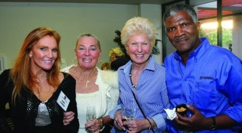 Bibbi Conner, Bibbi Herrmann, Inger Huber, Orville Brown (Photo: Jon Clark)