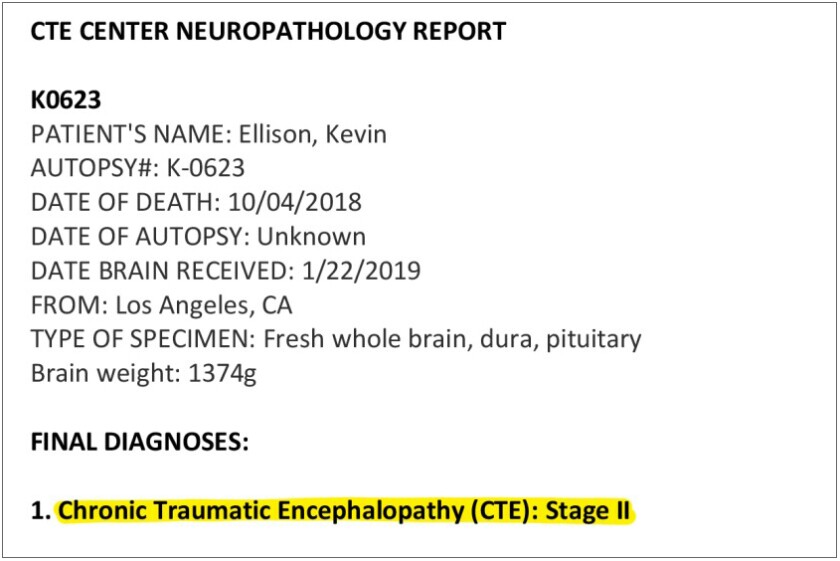Ellison CTE report