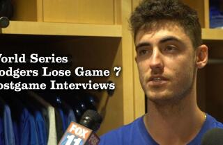 Kenley Jansen, Cody Bellinger, Rich Hill talk about losing Game 7