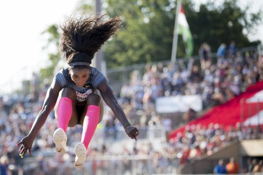 La atleta Caterine Ibarguen. EFE/Archivo