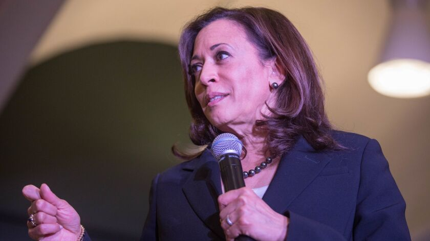 Kamala Harris Campaigns In New Hampshire