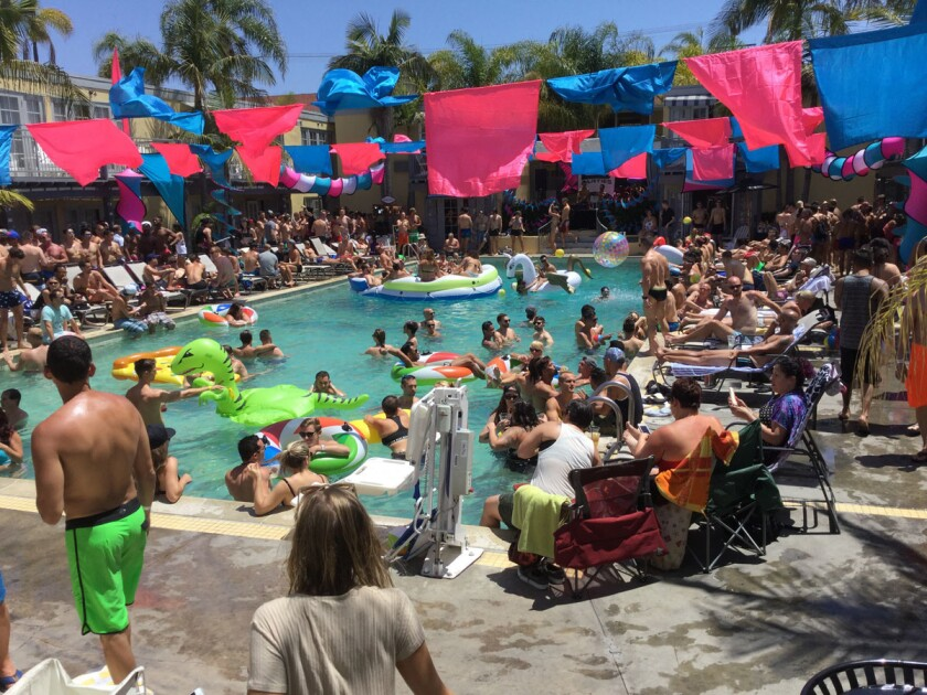 Splash Down San Diego S Hottest Pool Parties Pacific San Diego