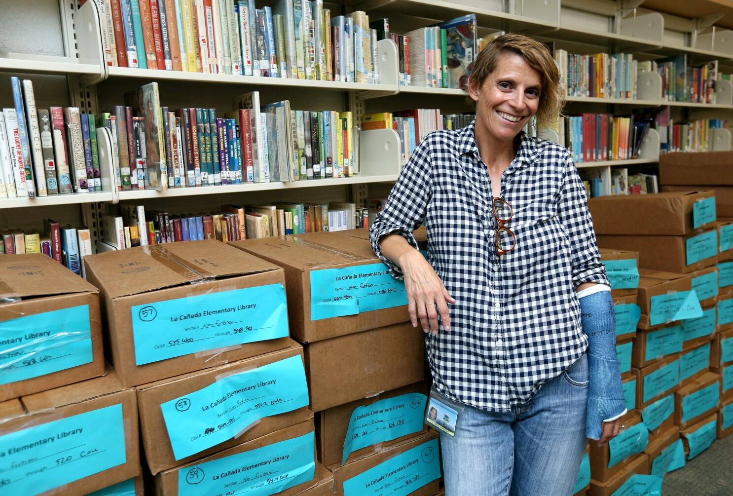 La Cañada Elementary librarian Billie Melillo writes a new chapter