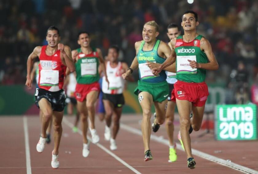 El mexicano Martínez Estrada gana los 5.000 metros