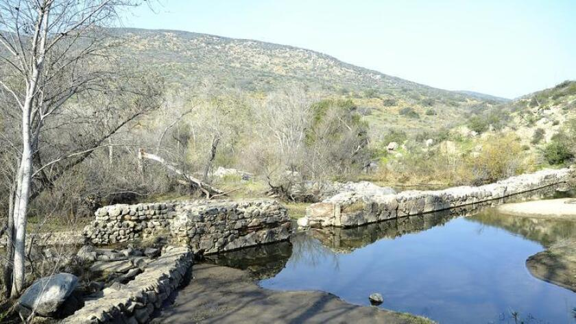 The Old Mission Dam located within Mission Trails Regional Park. (/ Rick Nocon)