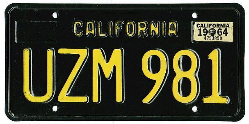 California DMV bringing back classic black license plates