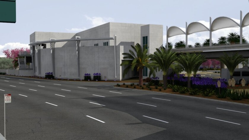 The new USO center at San Diego International Airport will be the largest of any airport's in the country, according to a spokesman.