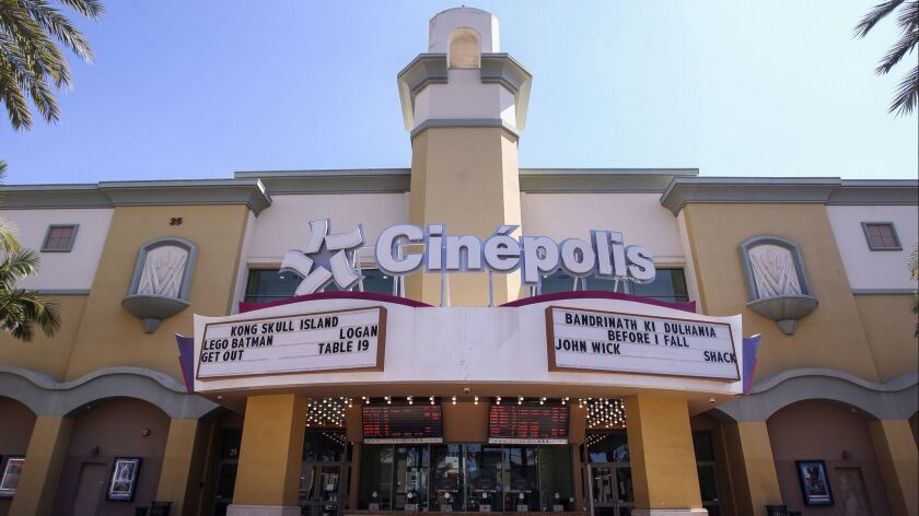 VISTA, March 16, 2017 | The Cinepolis movie theater in Vista on Thursday. | Photo by Hayne Palmour I
