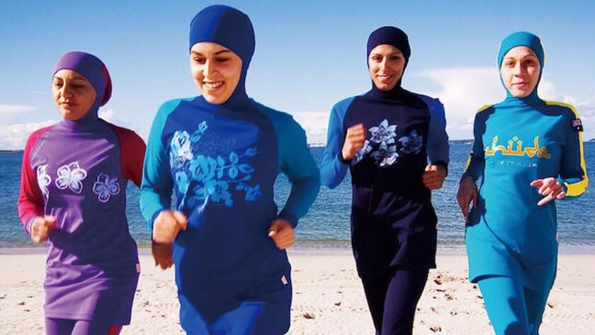 French Burkini Ban Puzzles Upsets Muslim Fashion Designers Los Angeles Times