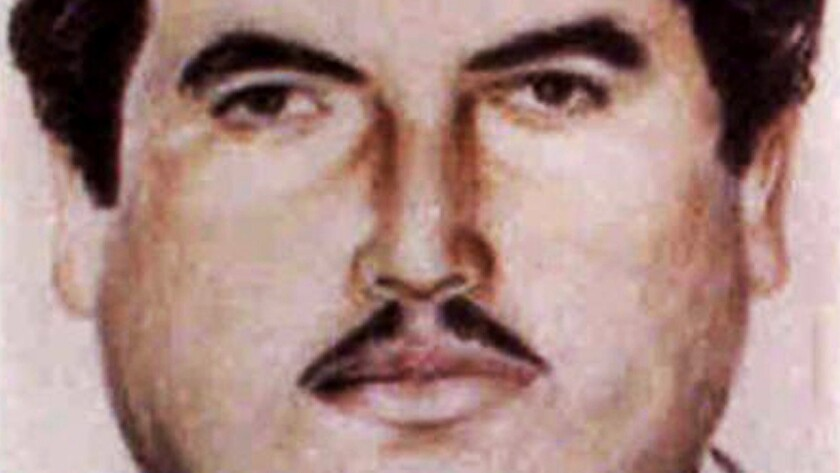 Vicente Carrillo Fuentes is shown in a sketch released by the Mexican attorney general's office in 2005. Authorities said the Juarez drug cartel leader was seized in Torreon.