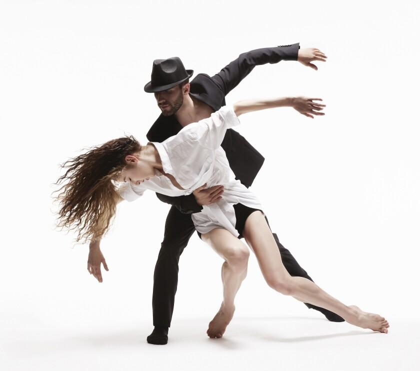 """Les Ballets Jazz de Montréal salutes Leonard Cohen in the evening-length work """"Dance Me."""""""