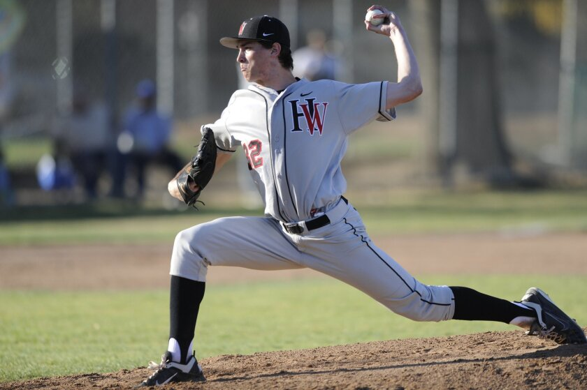 Left-hander Max Fried of Harvard-Westlake High in Studio City, selected No. 1 by the Padres.