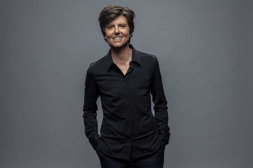 Actress Tig Notaro in the L.A. Times photo studio during PaleyFest, at the Dolby Theatre in Hollywood on March 24, 2019.