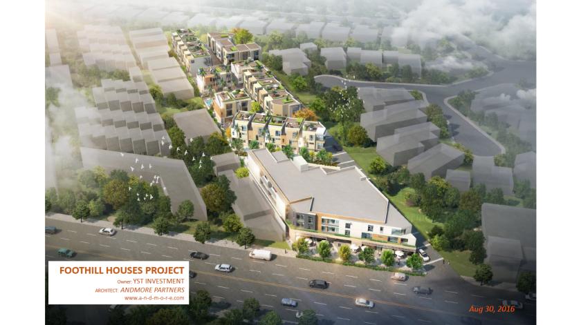 La Crescenta development proposal