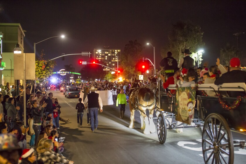 Chula Vista Starlight parade