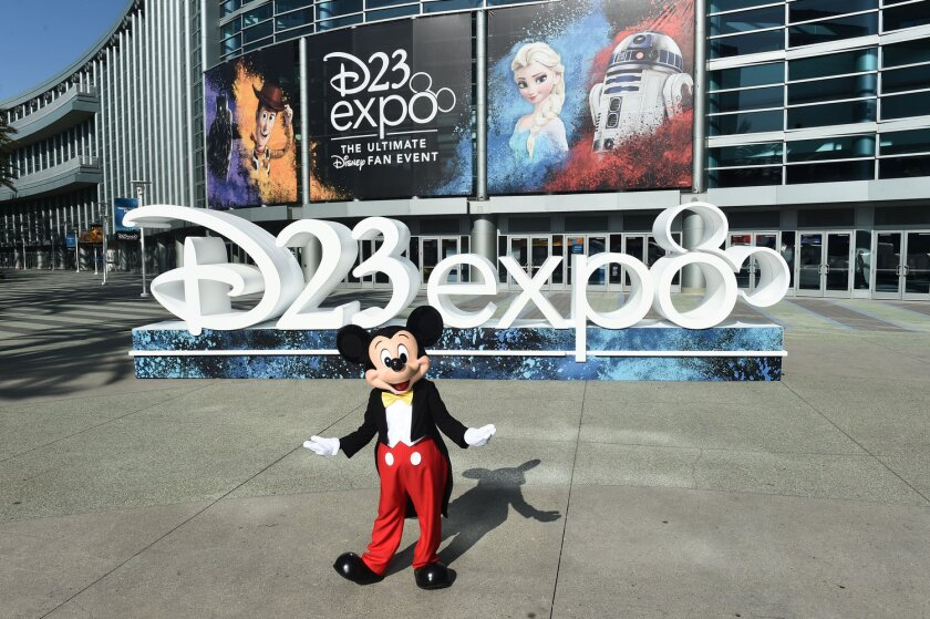 Mickey Mouse at D23 Expo 2019