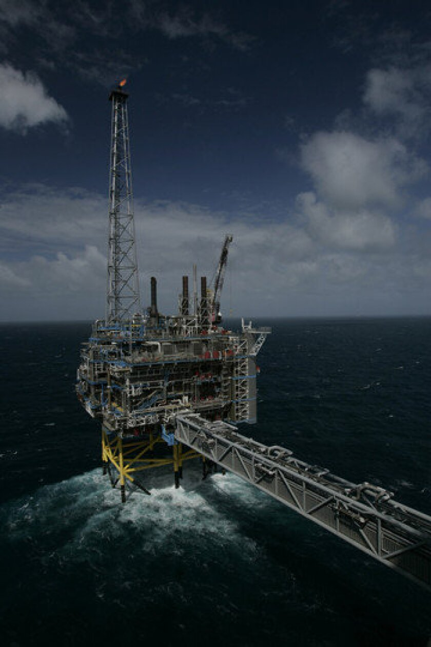 An 11-story unit in the North Sea traps excess carbon dioxide, which is then pumped into the ground. This method may cause earthquakes.