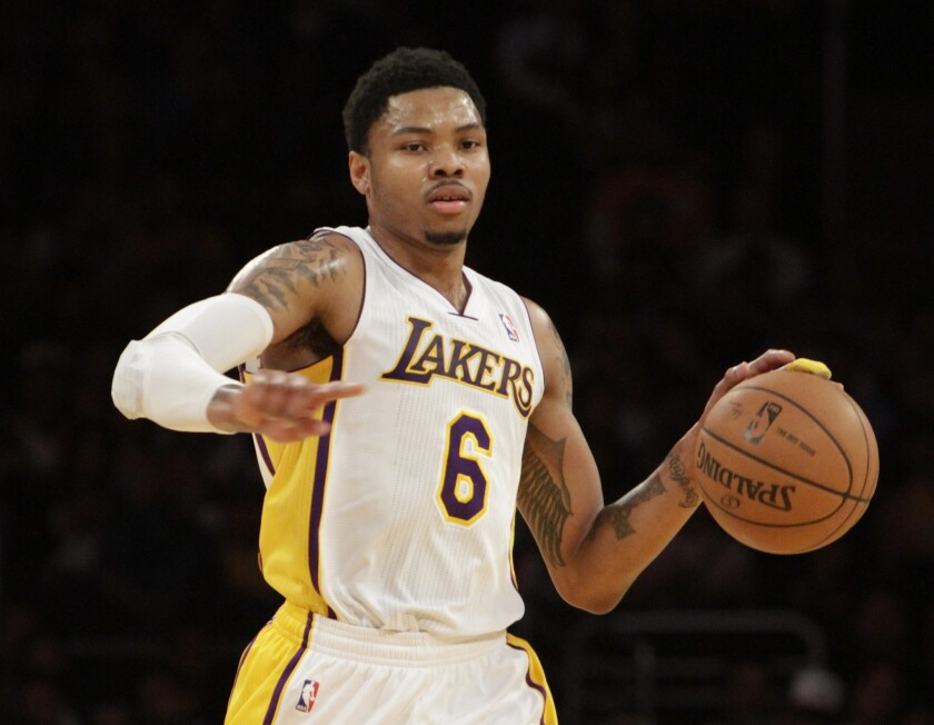 Kent Bazemore joined the Lakers in a February trade and appeared in 23 games, averaging 13.1 points and 3.1 assists. Bazemore is expected to sign a two-year, $4-million contract with the Atlanta Hawks.