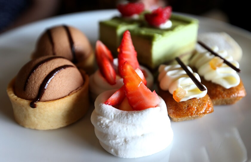 All the delectables add excitement to high tea at The Empress in Victoria on Vancouver Island in British Columbia.
