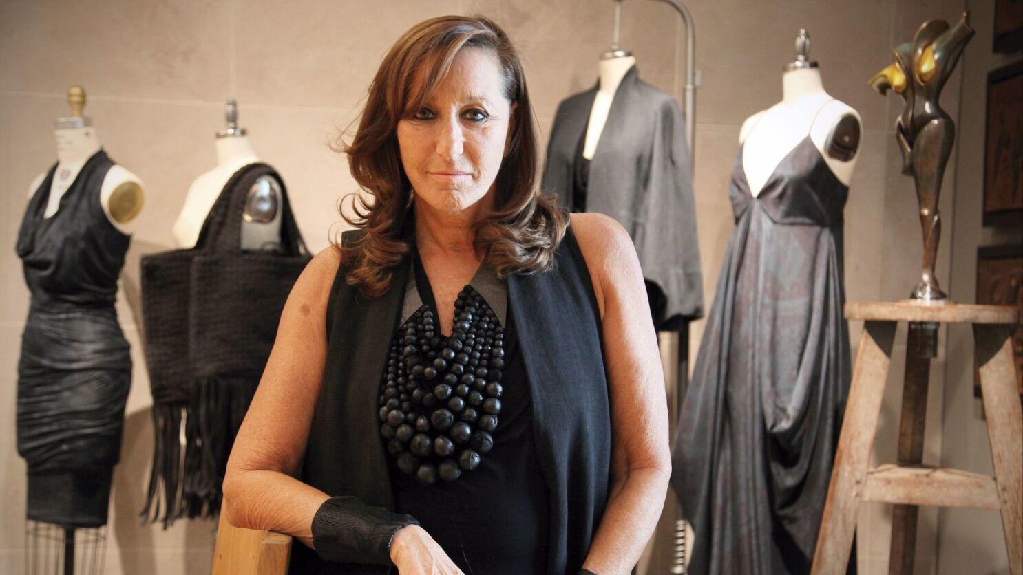 Donna Karan Faces Backlash For Her Harvey Weinstein Comments Los Angeles Times