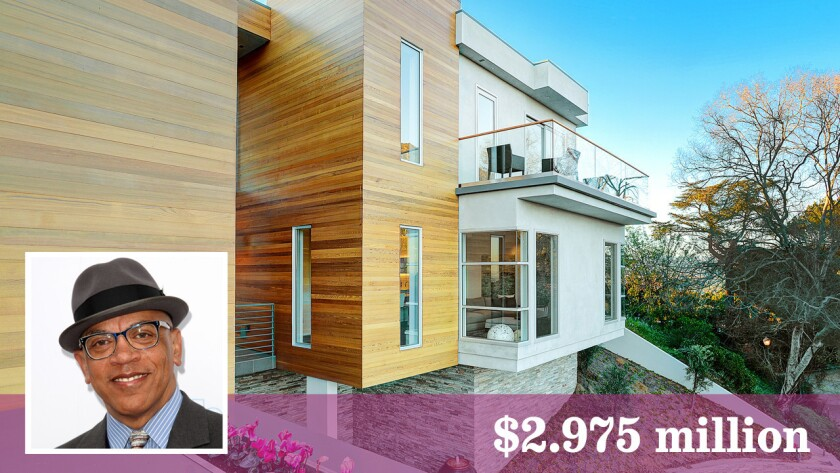 Bandleader Rickey Minor has bought a home in Hollywood Hills for $2.975 million