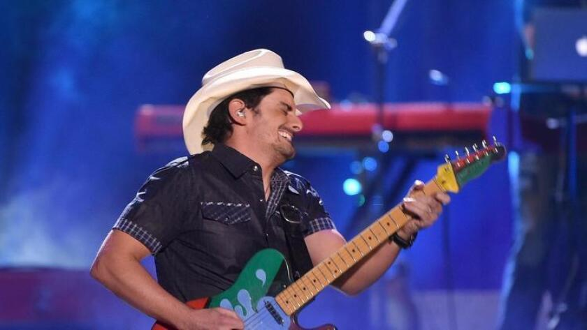 Musician Brad Paisley brings Life Amplified World Tour to Chula Vista's Sleep Train Amphitheatre on May 21. (Kevin Winter)