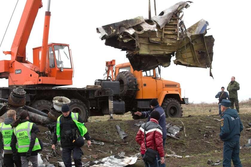 Malaysia Airlines Flight 17 crash site