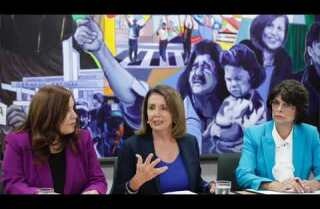 House Minority Leader Nancy Pelosi holds roundtable at CHIRLA