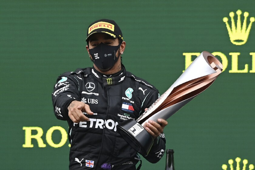 Lewis Hamilton Makes History With Record-Tying Seventh Formula One World Championship Win
