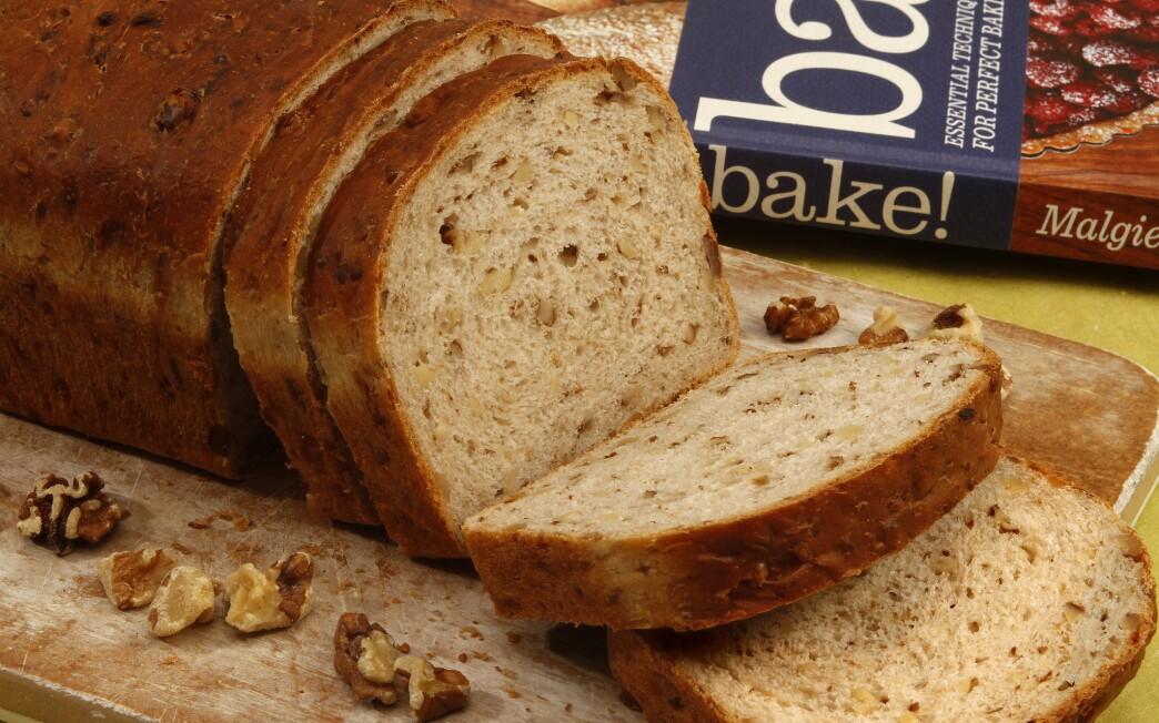 Gruyere and walnut bread