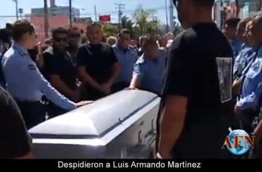 Despidieron a Luis Armando Martínez