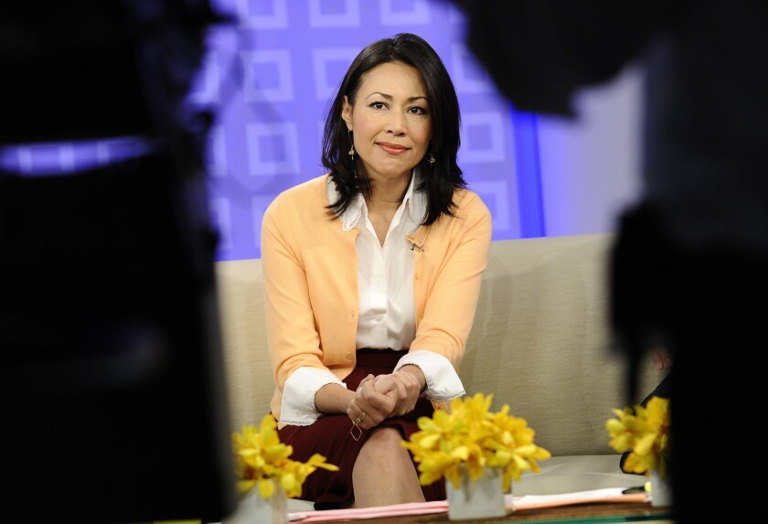 """Ann Curry in 2011 on """"Today."""""""