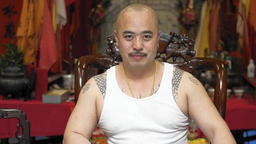 Raymond 'Shrimp Boy' Chow in 2007