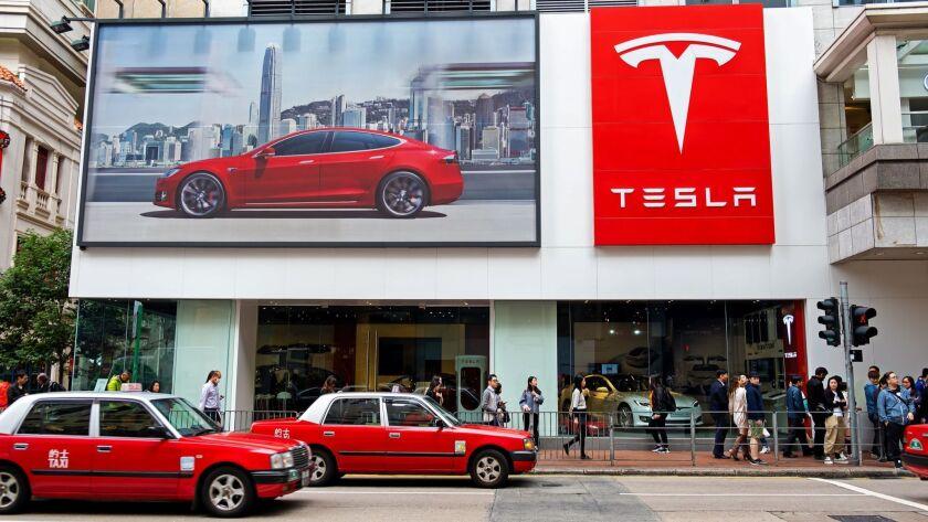 American electric company car Tesla Motors official store