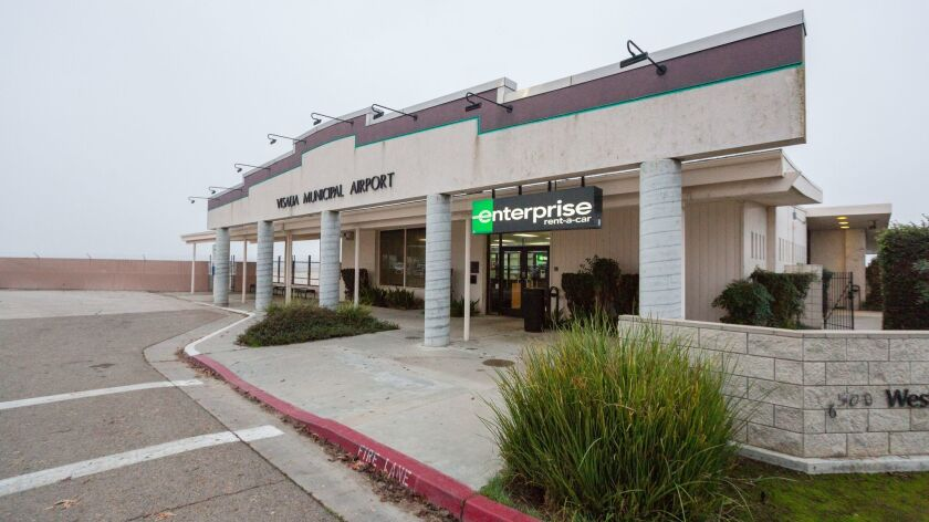 Enterprise Rent-A-Car¨ has taken over the Visalia Airport terminal and rents cars and trucks from th