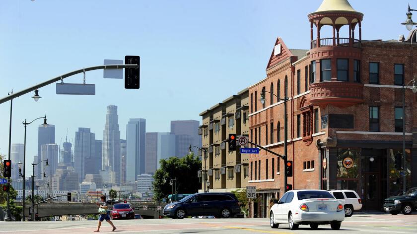 Foto de archivo de la ciudad de L.A.